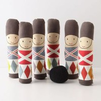 Plush Soldier Bowling Set - Anthropologie.com