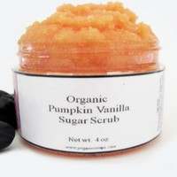 Organic Pumpkin Vanilla Body Sugar .. on Luulla