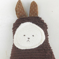 Soft Bunny Rabbit Doll,  Plush, Natural, Eco-FriendlyHoliday Kids Toys