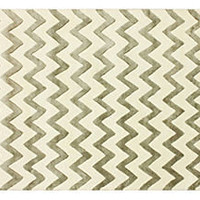 One Kings Lane - The Chic Boutique - Amelie Rug, Silver/Cream