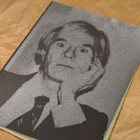 Warhol - Screen Printed XL Moleskine Notebook