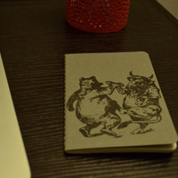 Bull vs Bear - Trading Log - Moleskine Notebook