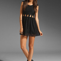 Lovers + Friends Friday Night Dress in Black Lace from REVOLVEclothing.com