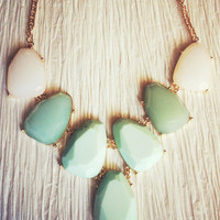 Mint Naomi Necklace – Modeets.com