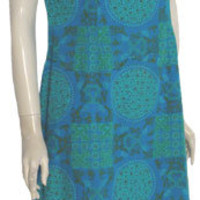 Rama Siam 1960s Vintage Dress Asian Print