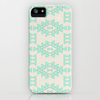 Mint Geo iPhone Case by Sandra Arduini | Society6