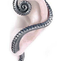 Kraken Tentacle Wrap Earring