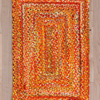Rectangle Braid Rug