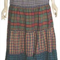 Jessica's Gunnies Vintage Hippie Full Skirt