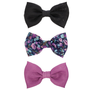 Womens - Brash - Women's (3 pk) Dizzy Floral Bow Barrette Set - Payless Shoes