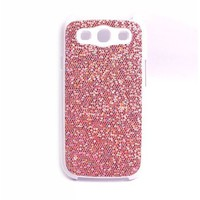 Amazon.com: COCO FUN Bling Glitter Back Cover Skin Case For Samsung Galaxy S3 I9300, I747 (Verizon, Sprint, T-Mobile, AT&T) + Clear Flim Screen Protector, Hot Pink: Cell Phones & Accessories