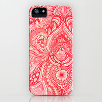 red iPhone Case by Yes Menu | Society6