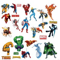 RoomMates RMK1154SCS Marvel Heroes Peel & Stick Wall Decals | www.deviazon.com