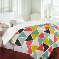 DENY Designs Home Accessories | Heather Dutton Triangulum Duvet Cover