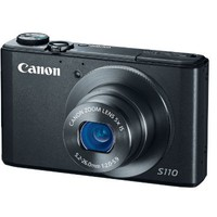 Canon PowerShot S110 12.1 MP Digital Camera with 5x Wide-Angle Optical Image Stabilized Zoom (Black) | www.deviazon.com