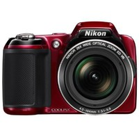 Nikon COOLPIX L810 16.1 MP Digital Camera with 26x Zoom NIKKOR ED Glass Lens and 3-inch LCD (Red) | www.deviazon.com