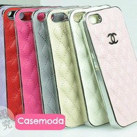 New Luxury Designer Synthetic Sheep Leather iPhone 5 Case Cover
