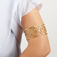 Grecian Arm Cuff (As Shown;One Size)