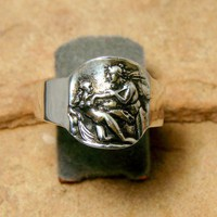 The Seduction  Sterling Silver Ring247 by Firefallstudios on Etsy
