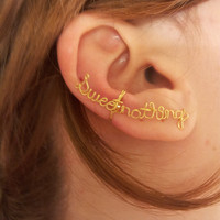 Sweet nothings- Ear cuff