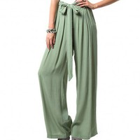 CHANTAL PALAZZO PANTS - BOTTOMS - WOMENS