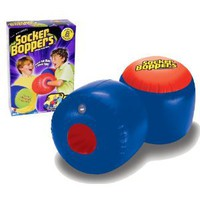 Amazon.com: Big Time Toys Socker Bopper (Colors May Vary): Toys & Games