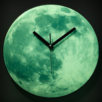 Glowing Moon Clock