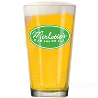 TRUE BLOOD: MERLOTTES BAR AND GRILL PINT GLASS