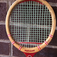 Bancroft The Winner Racquet With Green Strings 3 pieces lot