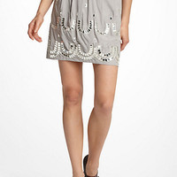 Mirrored Horseshoe Mini Skirt