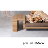 DIVANATO, collection Petsmood: an armchair with headrest for a pet that enjoys family life as a real star! (En)