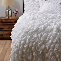 Catalina Quilt, White