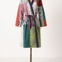 Quilted Patchwork Robe - Anthropologie.com