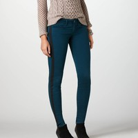 AEO Women's Sateen Jegging (Wine)