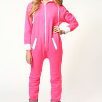 Nancy Hooded Zip Front Onesuit