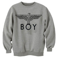 BOY LONDON SWEATSHIRT EAGLE SWEATER JUMPER T-SHIRT TOP HOODIE HOODY