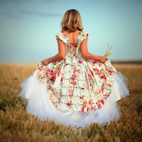 Flower Girls Dress Layaway Plan A 60 day 3 by vintageprecious