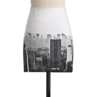 Stunner in the City Skirt | Mod Retro Vintage Skirts | ModCloth.com