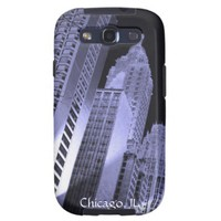 Chicago Skyline Samsung Galaxy S3 Case from Zazzle.com