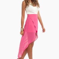 Hi-Low, Goodbye Wrap Skirt $44