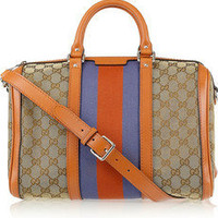 Gucci | Vintage Web monogram canvas duffel bag
