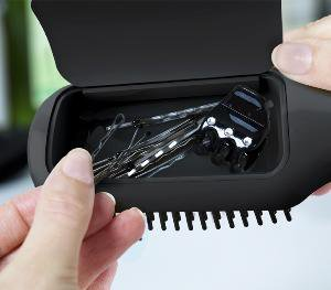 quirky - Flair Hairbrush with Storage
