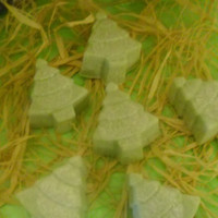 Candle Melts, Candle Tarts, Christmas Trees, Christmas Tree Shaped Candles, Hand Poured Candles, Made to Order