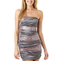 Sequin Banded Dress