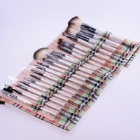 NEEWER 20 Pcs Goat Hair Makeup Brushes Set Kit w/ Handy Soft Case Cosmetic