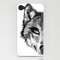 The Wolf Next Door iPhone Case by Florever | Society6