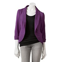 Candie&#x27;s Shawl-Collar Blazer