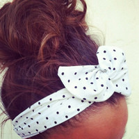 Dolly Bow Wire Headband