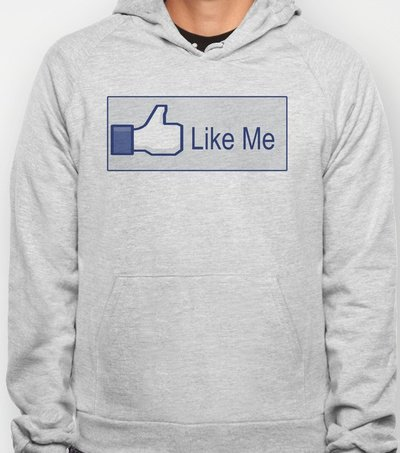 Like Me Hoody by Crooked Teeth | Society6