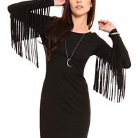 GYPSY WARRIOR - Fringe Dress